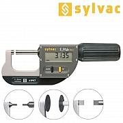 SYLVAC Bügelmessschraube mit speziellen Messflächen