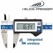 HELIOS-PREISSER Digital-Messschieber mit Funk-Datenübertragung