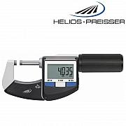 HELIOS-PREISSER Bügelmessschraube mit Schnellverstellung und Datenausgang