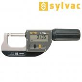 SYLVAC Bügelmessschraube IP67 mit Datenausgang