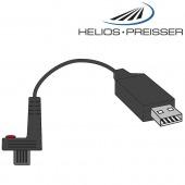 HELIOS-PREISSER Datenkabel für 1 Messgerät mit variablem Datenausgang