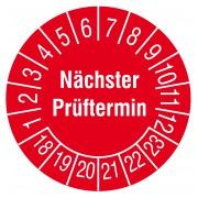 Prüfplaketten Ø30 mm (Mehrjahresplakette)